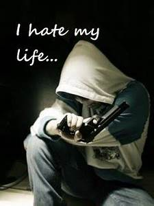 I Hate My Life 240x320 Mobile Wallpaper #13 | Mobile ...