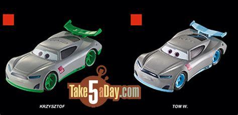 Take Five A Day » Blog Archive » Mattel Disney Pixar Cars