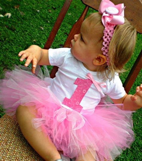 Baby Girl First Birthday Outfit