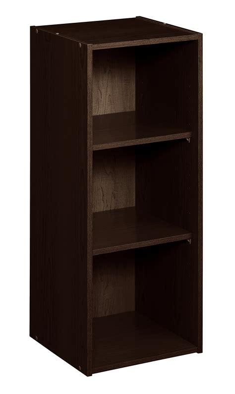 Espresso Closet Organizer by Closetmaid 8985 Stackable 3 Shelf Organizer Espresso