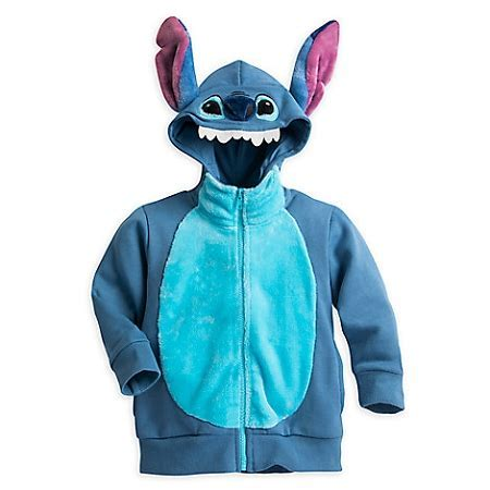 Disney Zip Hoodie for Kids   Stitch Character