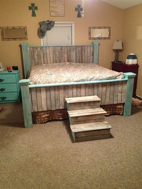 king beds ideas  pinterest rustic bed