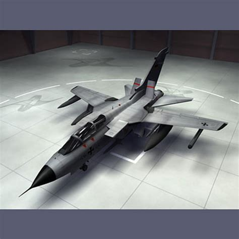 3d Panavia Tornado Ecr Fighters Model