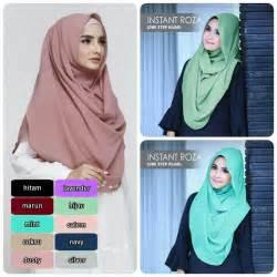 ekonomis hijabjilbab instant roza kerenwow