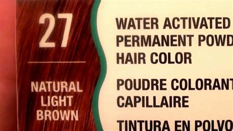 Water Works Permanent Powder Hair Color