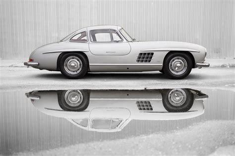 mercedes benz  sl alloy gullwing