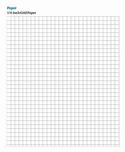 Printable Grid Paper 1 4 Inch Printable Grid Paper Template 12 Free Pdf Documents