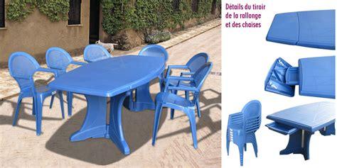 chaise de jardin bleu beautiful salon de jardin pvc solde gallery amazing