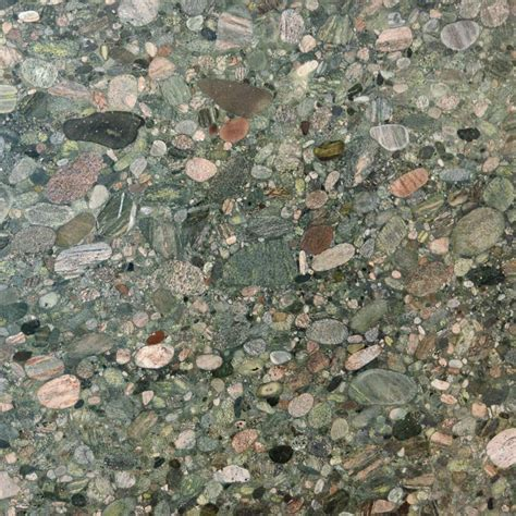 Verde Marinace Polished Granite Slab Random 1 1/4