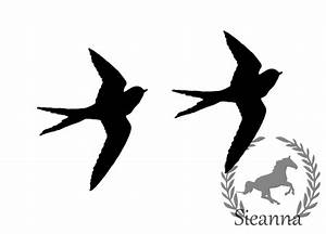 Black Birds Flying Set 7 by SieannaBoo on DeviantArt