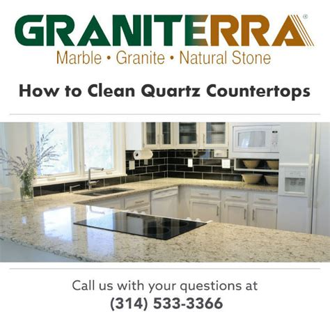 what to clean quartz countertops with how to clean quartz countertops graniterra st louis mo