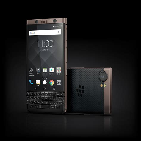 blackberry keyone bronze edition is official 2 more bb phones to launch in 2018 gizmochina