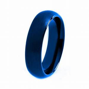 blue tungsten ring red men tungsten rings red wedding With blue mens wedding rings