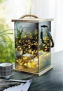 Glas Mit Lichterkette : spiegel laterne mit lichterkette jetzt bei bestellen ~ Yasmunasinghe.com Haus und Dekorationen