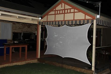 stretch outdoor projector screens stretch fabric