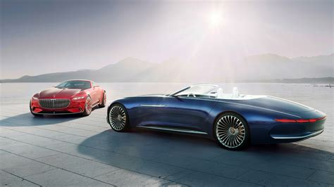 2018 Vision Mercedes Maybach 6 Cabriolet 4k Wallpaper