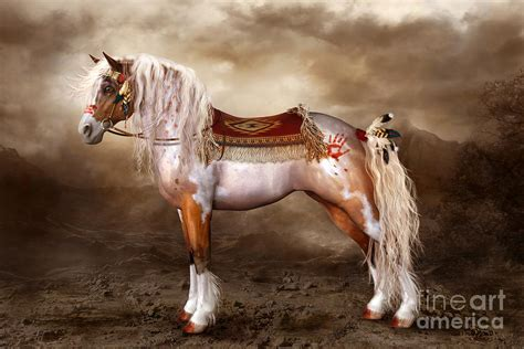 native horse american horses spirit shanina conway digital cheveyo indian quotes americans indians painting paint ponies redbubble artwork drawings quotesgram