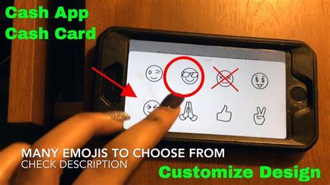 customize design cash app cash card youtube