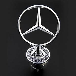 Mercedes Benz Emblem : 3d zinc alloy car frond hood ornament emblem for mercedes ~ Jslefanu.com Haus und Dekorationen