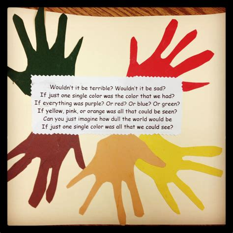 celebrating diversity craft with poem could also use 959 | 7bb9dad8955cedea7316e83458b4d64d