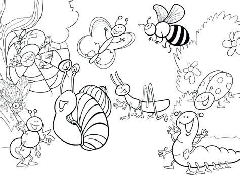 bugs coloring pages preschool at getcolorings free 391 | bugs coloring pages preschool 29