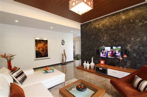 Misty Haven Villa contemporary living room other metro