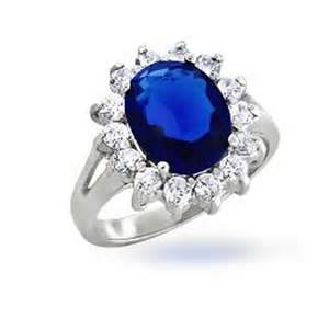 blue wedding ring goes wedding jewelry sterling silver blue sapphire kate middleton engagement ring with prince