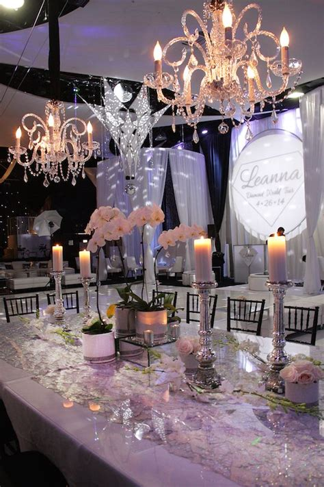 Diamond Themed Wedding