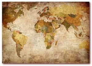 Alte Weltkarte Poster : xxl poster 100 x 70cm k701 alte weltkarte landkarte lieferung gerollt ebay ~ Markanthonyermac.com Haus und Dekorationen