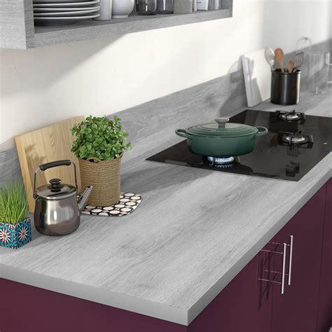 protection plan de travail bois cuisine cuisine plan travail bois cuisine avec ilot gris