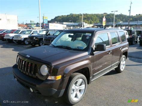 dark brown jeep 2014 rugged brown metallic jeep patriot latitude 4x4