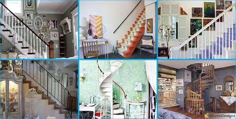 bellissime idee  decorare scale shabby chic