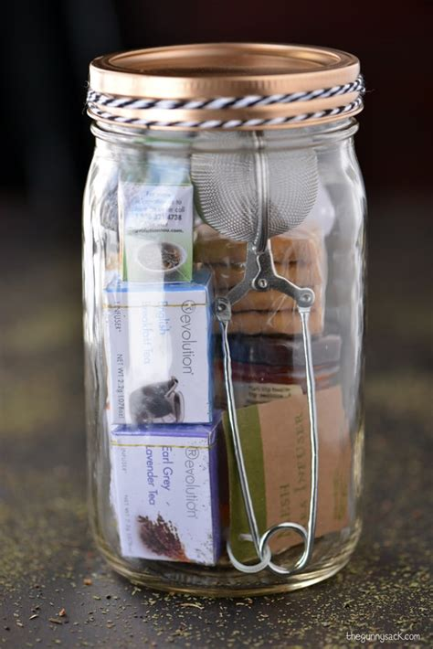 gift ideas for kitchen tea tea jar gifts the gunny sack