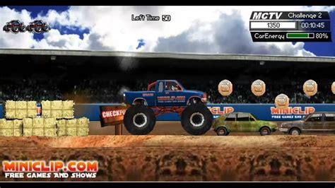 Monster Trucks Miniclip Online Game