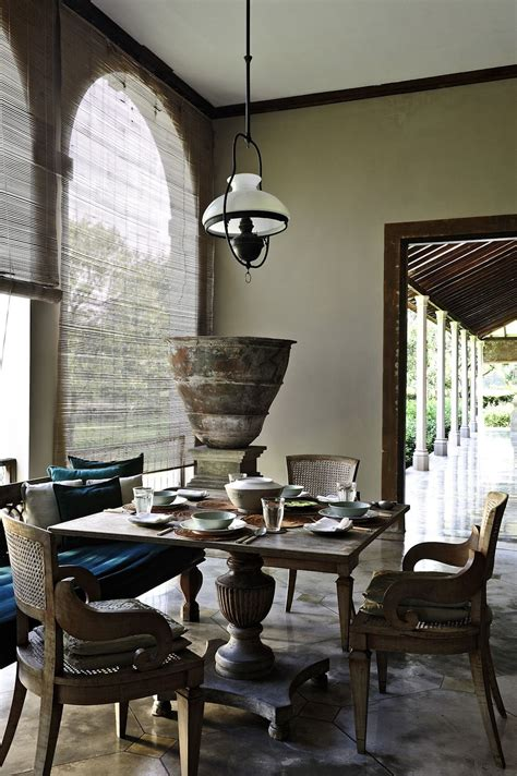 indonesian dinning room decor indonesianstyle homedecor