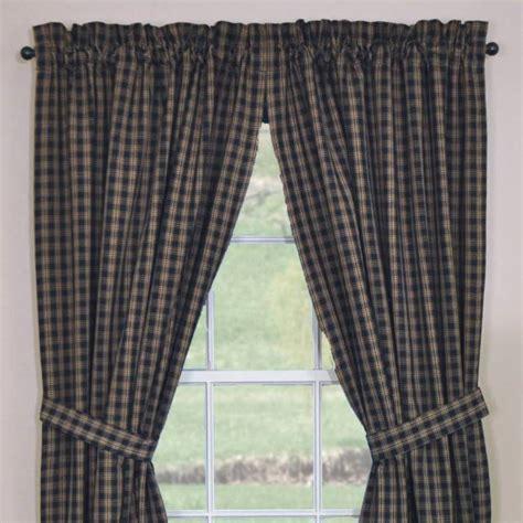 black sturbridge curtains