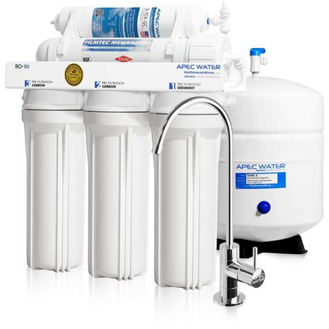 under sink ro apec water systems ultimate premium quality wqa certified