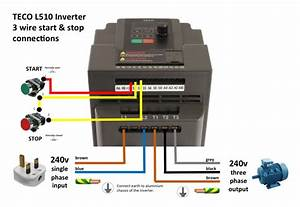 Teco L510 Inverter Wiring  U2013 Jhw Engineering
