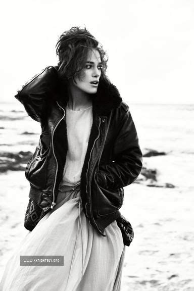 For Vogue Keira Knightley