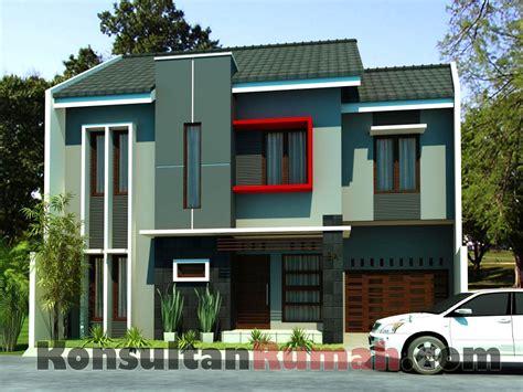 desain rumah minimalis bata merah desain rumah