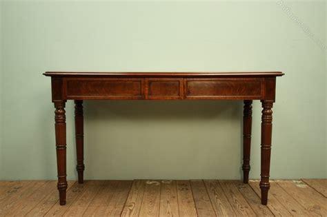 mahogany sofa table antique georgian antique mahogany console table antiques atlas