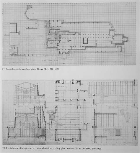 ennis house floor plan wright chat view topic ennis house restoration completed
