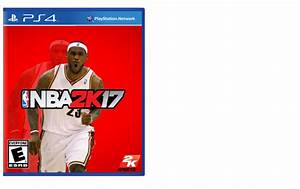 NBA 2K17 PlayStation 4 Box Art Cover By Alex Gozdecki