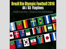 Rio Olympic 2016 Brazil Flag Bendera Sale