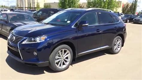 blue lexus 2015 2015 lexus rx 350 awd touring package review blue on