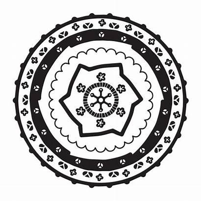 Mandala Japanese Coloring Pages Babadoodle Infinity