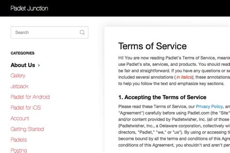 terms of service template 2018 terms of service template generator free up to date