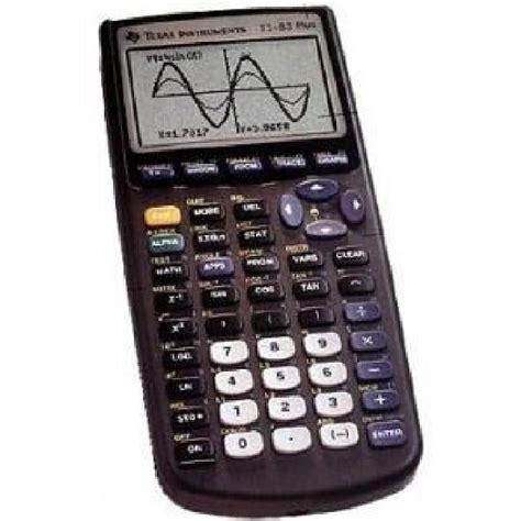 instruments calculatrice graphique ti83 plus achat vente calculatrice calculatrice
