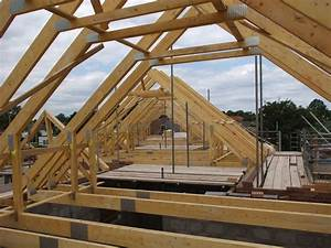 roof trusses being craned in on the 5 new homes we39re With attic trusses for sale
