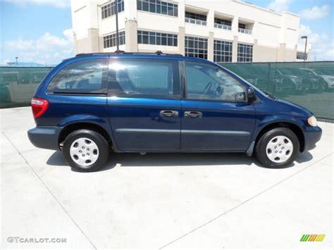 2002 Dodge Caravan Se by Patriot Blue Pearl 2002 Dodge Caravan Se Exterior Photo